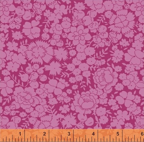 Tonal Floral in Lilac