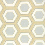 Hexagons in Mustard