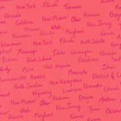 All the States in Pink