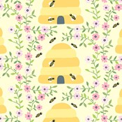 Busy Bees in Yellow