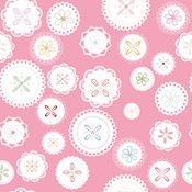 Doily in Pink