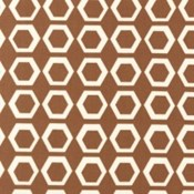 Hexagons in Brown