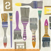 Brushes in Spackle