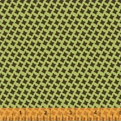 Tiny Houndstooth in Green