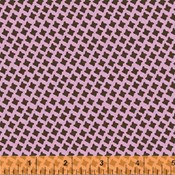Tiny Houndstooth in Purple