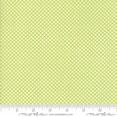 "108"" Wide Polka Dot in Green"