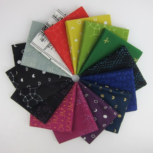 Indah Batiks Dark Colorstory Fat Quarter Bundle