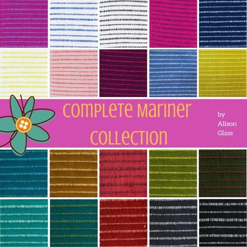 Complete Mariner Fat Quarter Bundle by Alison Glass