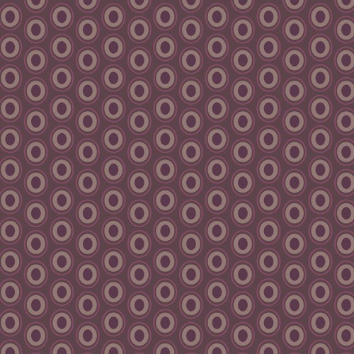 Oval Elements - Prune Brown