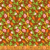 Briar Rose Calico in Brown