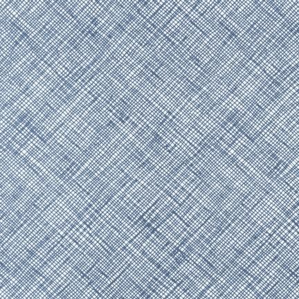 Crosshatch in Blue