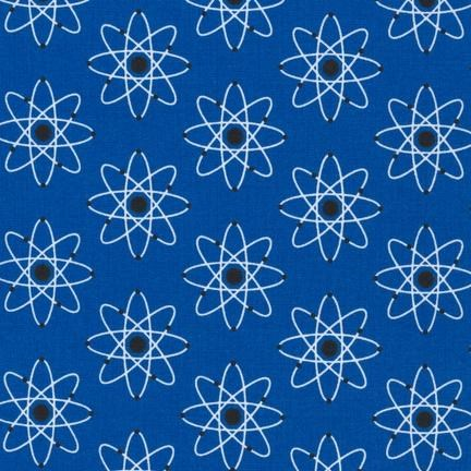Atomic Universe in Blue