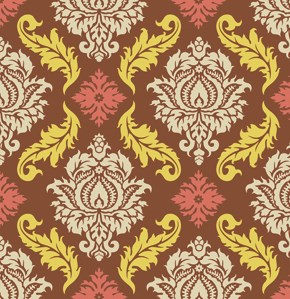 Damask in Maple
