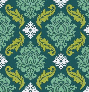 Damask in Turquoise