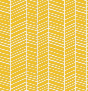 Herringbone in Yellow