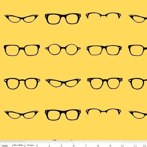 Geekly Glasses in Yellow