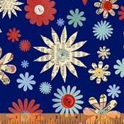 Crafty Floral in Blue