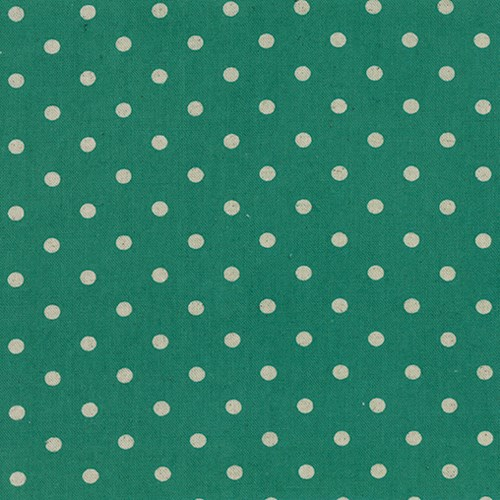 Linen Mochi Dot in Teal