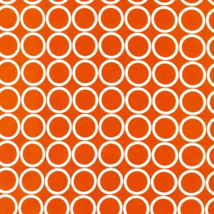 Metro Circles in Orange