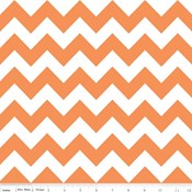 Medium Chevron in Orange