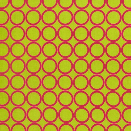 Metro Circles in Lime