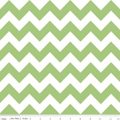 Medium Chevron in Green