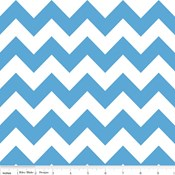 Medium Chevron in Medium Blue