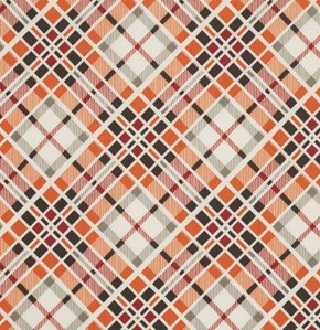 Multi Plaid in Carnelian