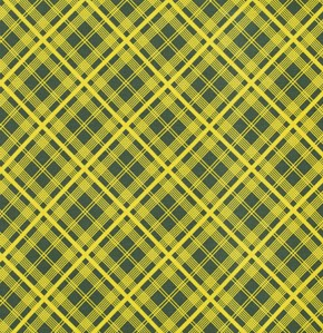 Simple Plaid in Lime