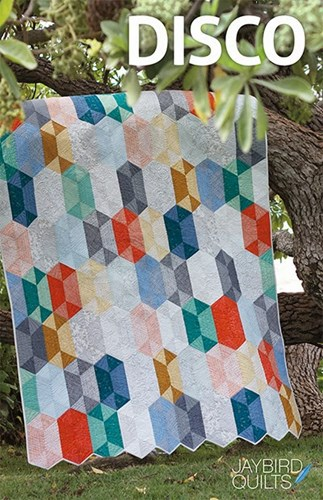 Disco Quilt Pattern by Jaybird Quilts