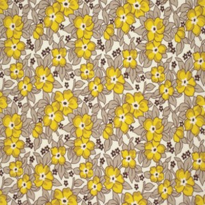 Old Fashioned Floral in Sunflower