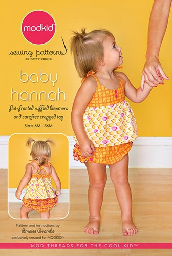 Baby Hannah Sewing Pattern