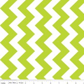 58'' Wide Medium Chevron in Lime