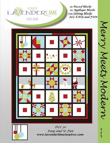 Merry Meets Modern Quilt Kit