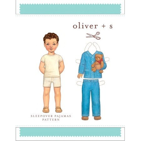 Sleepover Pajamas Pattern Sizes 6M-4