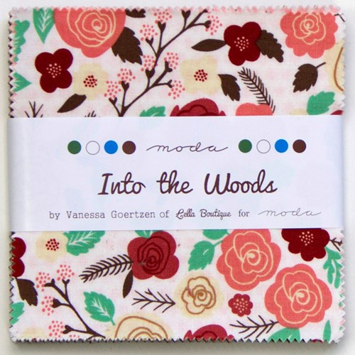 Into the Woods Charm Pack by Vanessa Goertzen of Lella Boutique