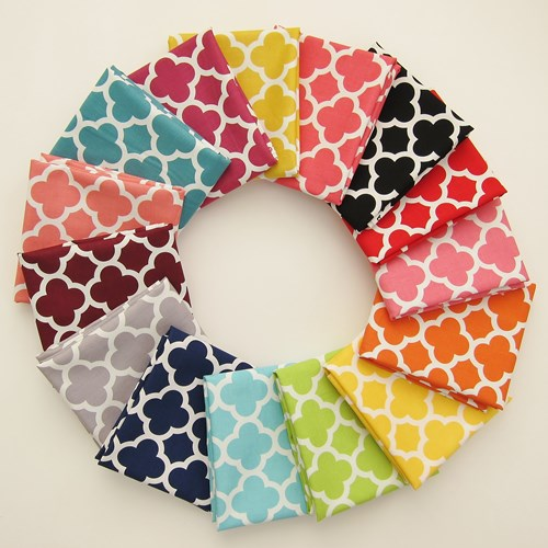 Quatrefoil Fat Quarter Bundle
