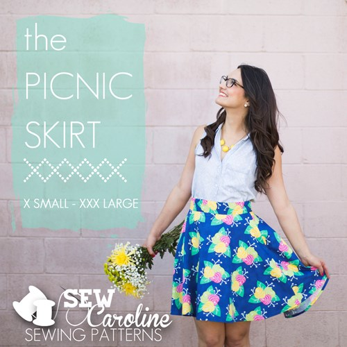 The Picnic Skirt Pattern