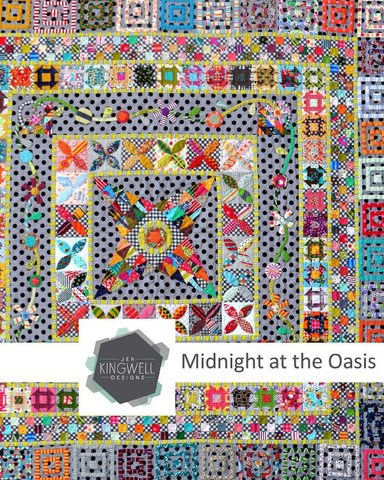 Midnight at the Oasis Quilt Pattern