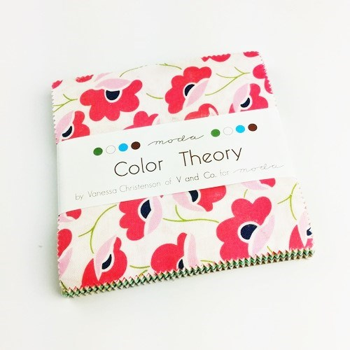 Color Theory Charm Pack by V and Co