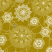 Doily Web in Mustard