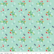Floral in Mint