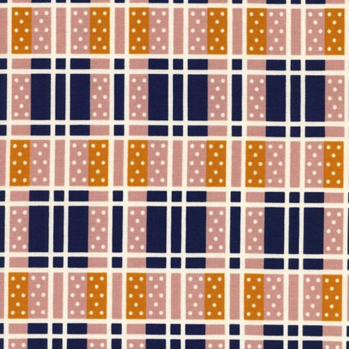 Domino Plaid in Pink