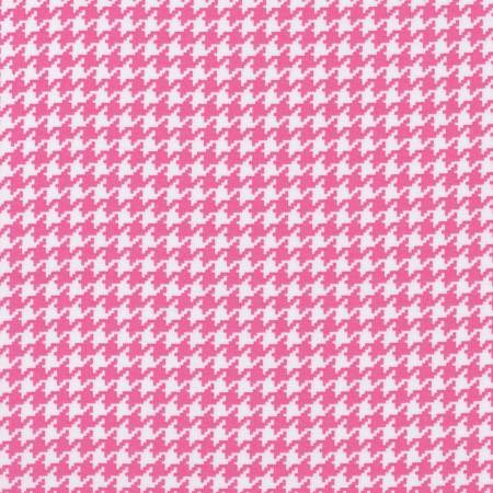 Houndstooth in Pink