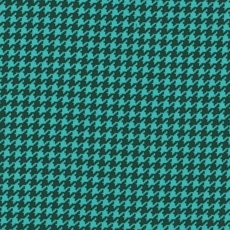 Houndstooth in Turquoise