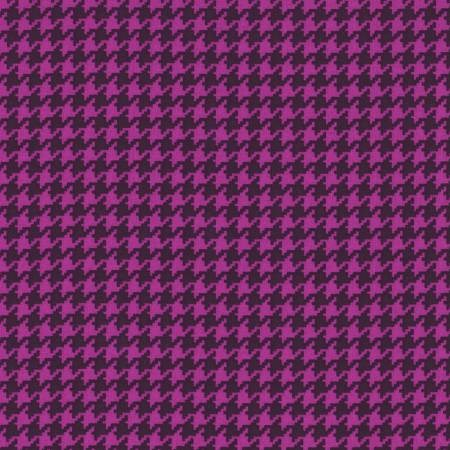 Houndstooth in Purple and Black