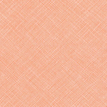 Crosshatch in Creamsicle
