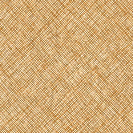 Crosshatch in Caramel