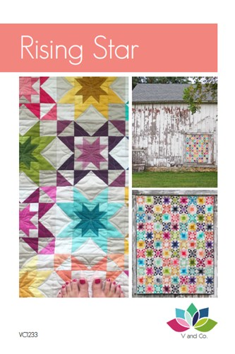 Rising Star Quilt Kit Featuring Ombre by V and Co