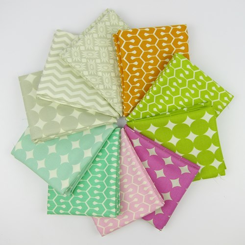 True Colors Favorites Fat Quarter Bundle by Heather Bailey